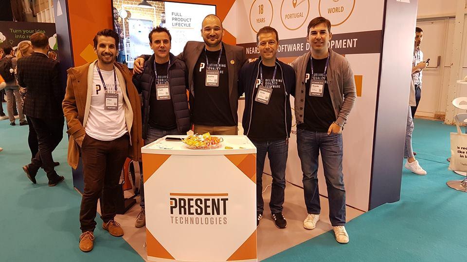 Present Tehnologies at WebSummit 2018